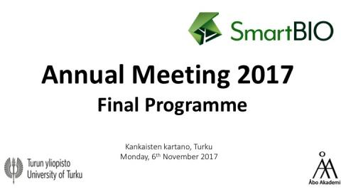 final programme annual meeting