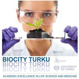 BioCity Turku logo with a woman and plant seedling